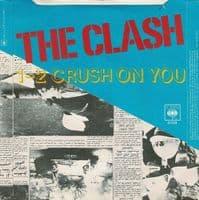 THE CLASH Tommy Gun Vinyl Record 7 Inch CBS 1978